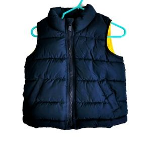 Old Navy Lined Puffer Vest 12-18m